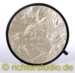 Gold-Weiss 82 cm Light Disk Faltreflektor
