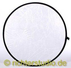 Weiss-Transparent 122 cm Light Disk Faltreflektor