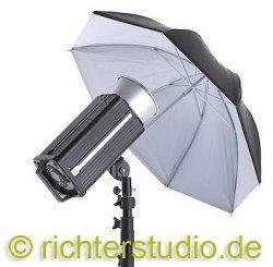 Schirm 82 cm, Weiss