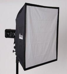 Softbox 100 x 100 für Studioblitz