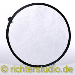 Weiss-Transparent 82 cm Light Disk Faltreflektor