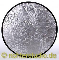 Silber-Weiss 107 cm Light Disk Faltreflektor