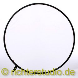Weiss-Transparent 107 cm Light Disk Faltreflektor