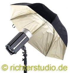 Schirm 122 cm, Gold